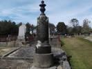 Family headstone in Port Chalmers new Cemetery, Dunedin