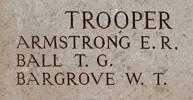 William's name is on Chunuk Bair New Zealand Memorial to the Missing, Gallipoli, Turkey.