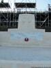 Chunuk Bair Memorial Photographed 27 April 2015 during visit to Turkey for 100th Commemoration of Anzac Day Note seating still in place for the New Zealand service held on Anzac Day.