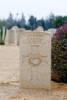 Keepa's Gravestone, El Alamein War Cemetery, Egypt.