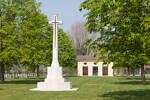 Padua War Cemetery, Italy.