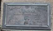 1st NZEF, 16/746 Pte M TAPINE, Maori Pioneer Battn, died 8 January 1974 aged 76 years.