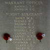 Bernard's name is inscribed inside Runnymede Memorial.