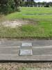 Grave of John George BRYAN 5990 (foreground) Photographed 25 April 2018 Waikumete Cemetery, Auckland, NZ ©Sarndra Lees