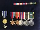 SH Spicer War Medals
