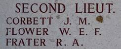 Robert's name is on Lone Pine Memorial to the Missing, Gallipoli, Turkey.