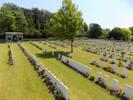 Menin Road South Military Cemetery, Leper, West-Flanders, Belgium.
