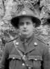 Photo of John McGregor taken in March 1918 at the 8th Michelham Convalescent Home Cape Martin Menton France.