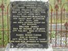 Family headstone in Clinton Cemetery, South Otago