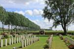La Plus Douve  Farm Cemetery, Comines, Warneton, Hainaut, Belgium.
