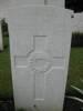 Pvt Potene Tuhoro of the NZ Maori Battalion died of tubercular peritonitis 13 Jan 1917 in the 1st NZ General Hospital at Brockenhurst, England and is buried in the Brockenhurst (St Nicholas) Churchyard, Hampshire, England
