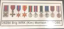 Kim MORRISON's medals