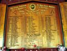 Tikitiki-Church-War Memorial - 16/686 Pte James Newton's name appears on this War Memorial