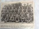 A photo of those who held the front line on the last night of the evacuation at Gallipoli
