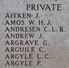 George's name is on Chunuk Bair New Zealand Memorial to the Missing, Gallipoli, Turkey.