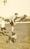 Roy kicking for goal prior to WW1