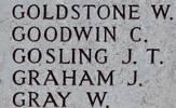 John's name is on Chunuk Bair New Zealand Memorial to the Missing, Gallipoli,Turkey.