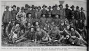members of the 7th, 8th and 9th New Zealand Contingents who left by the troopship 'Drayton Grange' from Wellington on 14 April to join their respective contingents in South Africa