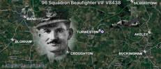 96 Squadron Beaufighter VIF V84338