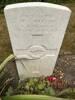 Headstone in St Nicholas churchyard, Brockenhurst, July 2018