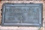 1st NZEF, 61714 Pte R W MOSS-BLUNDELL, Wellington Regt, died 6 September 1971.