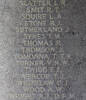 Ian's name is inscribed inside Runnymede Memorial.