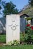 Rukutai's Gravestone, Cassino War Cemetery, Italy.