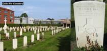 Celle War Cemetery. Grave 2.D.2
