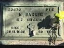 Private Norman Barker