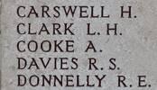 Arthur's name is on Chunuk Bair New Zealand Memorial to the Missing, Gallipoli,Turkey.