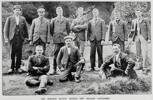 Gisborne's members of the 7th Contingent J Hanlon # 4176, C J Denny , T F Carlyle, N Law, P W Teesdale, W Parker, W L Cato, D Buckley, E A Guilford, T R Porter
