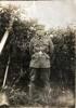 Soldier standing. WW1 uniform
