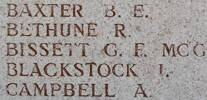 Roderick's name is on Lone Pine Memorial to the Missing, Gallipoli, Turkey.