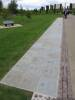 Victoria Cross commemorative paving stones, National Memorial Aboretum, Staffordshire, England