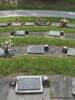 Ashes plot of Harold John FERRALL (centre) Helensville cemetery, Helensville, New Zealand Photographed 24 November 2012