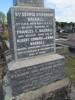 Family memorial to Albert Eric Ralston BAGNALL [base of headstone] Photographed 13 October 2013,  Waikaraka Cemetery, Onehunga, Auckland, New Zealand