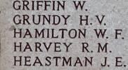 Robert's name is on Chunuk Bair New Zealand Memorial to the Missing, Gallipoli,Turkey.