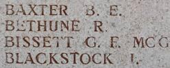 Bernard's name is on Lone Pine Memorial to the Missing, Gallipoli, Turkey.