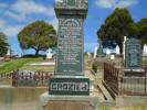 Family headstone in Waitahuna Cemetery
