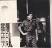 Bob outside the NEWZAD barracks in Vietnam