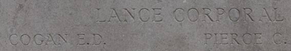Ernest's name is on Twelve Tree Copse NZ Memorial to the Missing Gallipoli, Turkey.