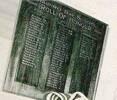 Waipiro Bay School's Roll Of Honour - H K Awarau's name appears on this Roll of Honour