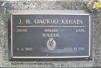 Plaque at Kaiapoi Public Cemetery