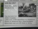 Information on the Battle of Passchendaele, 12 October 1917