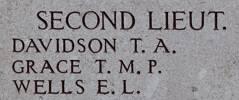 Thomas Grace's name is on Chunuk Bair New Zealand Memorial to the Missing, Gallipoli, Turkey.