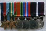 Medals belonging to Claude Harding (Junior)