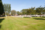 Cite Bonjean Military Cemetery, Armentieres, France.