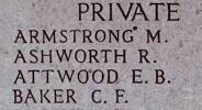 Robert's name is on Chunuk Bair New Zealand Memorial to the Missing, Gallipoli, Turkey