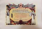 Farnworth Tribute Certificate for Ernest Barnes