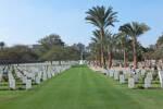 Cairo War Memorial Cemetery Egypt..